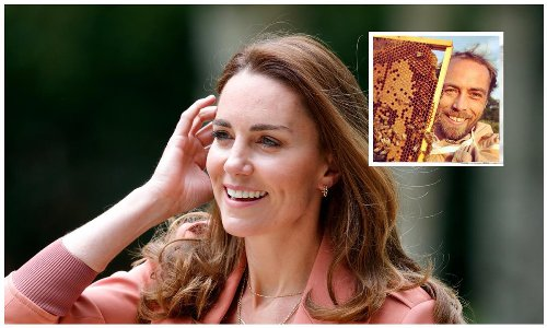 Kate Middleton has her own beehive just like her little brother James