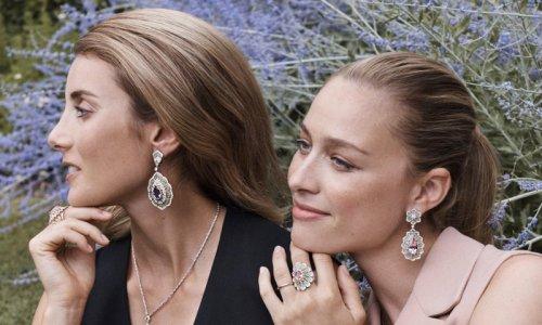 Princess Caroline's daughter-in-law Beatrice Borromeo stars in new jewelry campaign