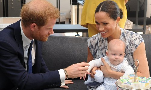 Meghan Markle and Prince Harry's son Archie's birthday gift revealed