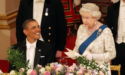 Queen Elizabeth has met every U.S. president since Harry Truman, with one exception