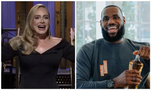 Watch Adele and LeBron James dancing Dominican music at Anthony Davis's wedding