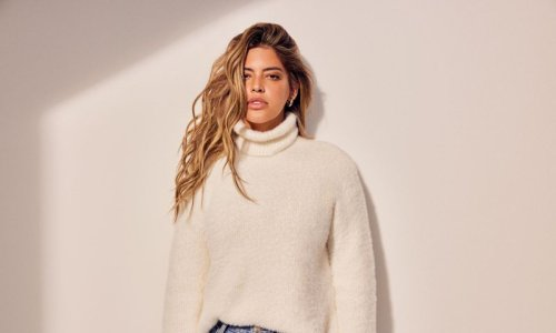 Denise Bidot brings expertise to the street style with an affordable plus-size fashion collection