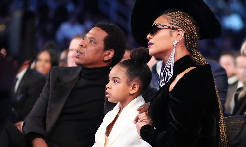 Beyoncé and Jay-Z look incredibly stylish posing with their three children