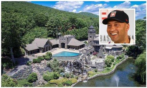The castle Derek Jeter is selling is now $2 million cheaper- Look inside