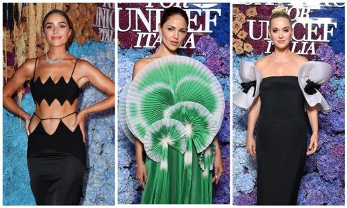 Katy Perry, Chrissy Teigen, Eiza Gonzalez and Olivia Culpo among the stars that looked radiant at the UNICEF summer gala in Capri [Photos]