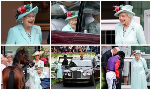 Photos of Queen Elizabeth II at Royal Ascot - Day Five