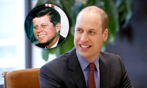 JFK's daughter talks about Prince William's 'great tribute' to her father