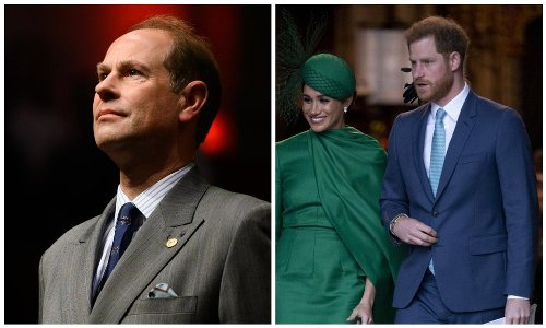 Prince Edward opens up about Harry and Meghan's rift with the Royal family