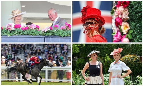 Duchess Camilla, Countess of Wessex and more on day two of Royal Ascot [Photos]