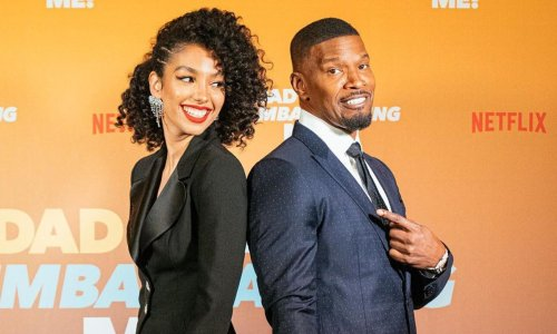 Corinne Foxx became Jamie Foxx's boss filming 'Dad Stop Embarrassing Me!'
