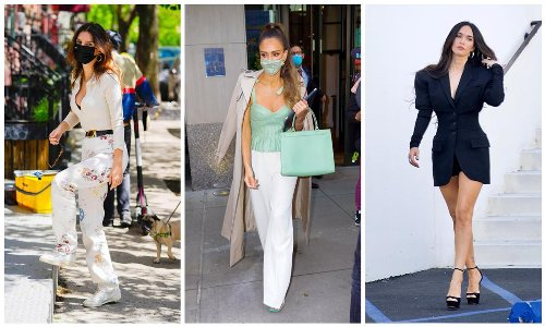 The top 10 celebrity style looks of the week - May 3
