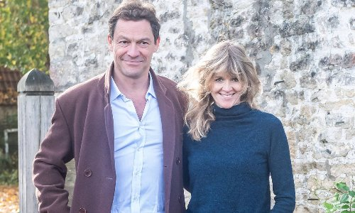 Dominic West's wife opens up about her marriage following romantic scandal with Lily James