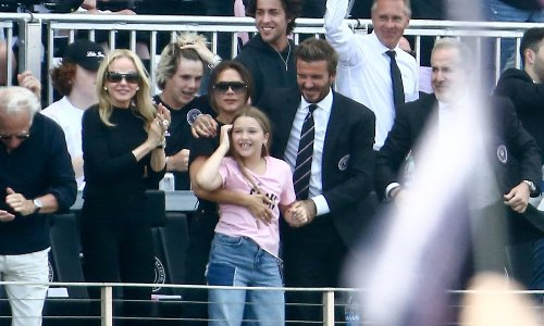 Tom Brady and the Beckham family attend Inter Miami's home opener against LA Galaxy