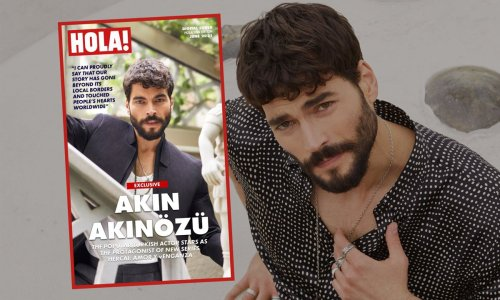 Akin Akinözü, the Turkish heartthrob who will capture the hearts of Latinos in the U.S.