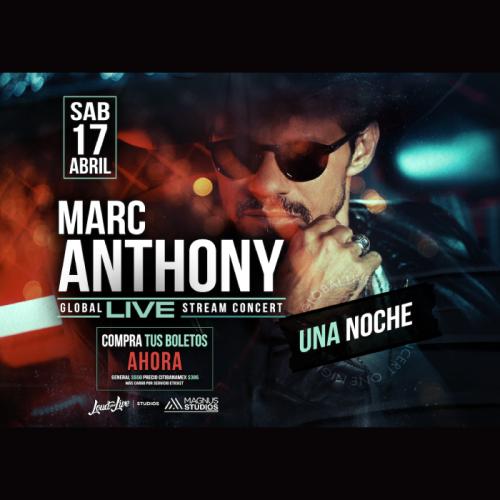 ¡Conoce a Marc Anthony! Gana con Huawei un boleto para su concierto online