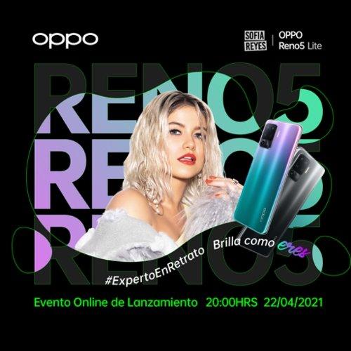 Todo listo para el lanzamiento del nuevo OPPO Reno5 Lite