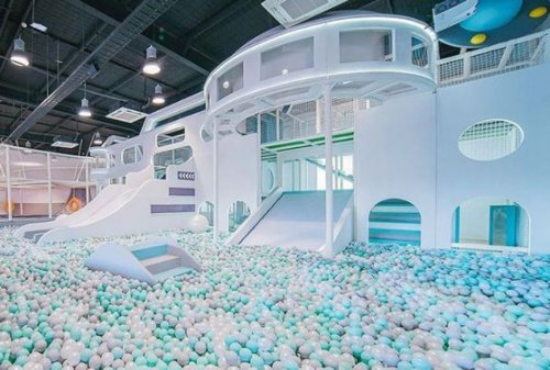 Why this futuristic indoor play centre is our latest obsession -