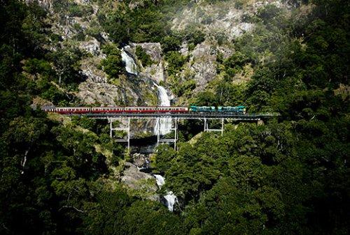Explore Barron Gorge National Park with Kuranda Scenic Railway