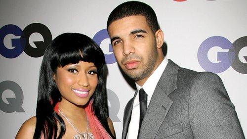 Nicki Minaj Cuddles Up To Drake For The 'Lover Boy's 35th Birthday: Photos