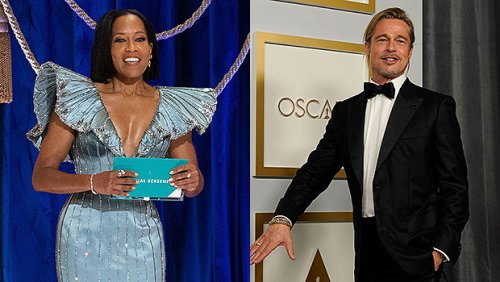 Oscars 2021 Best Moments: Regina King's Epic Save, Brad Pitt's Sexy Ponytail & More