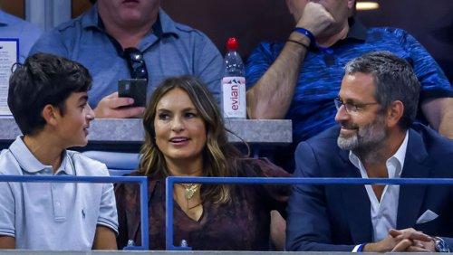 'Law & Order: SVU's' Christopher Meloni Greets A Surprised Mariska Hargitay At US Open — Photos