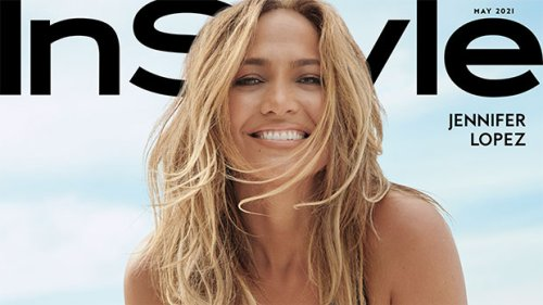 Jennifer Lopez, 51, Rocks A Sexy Plunging Swimsuit, Sheer Shirt & More For 'InStyle' Beauty Issue