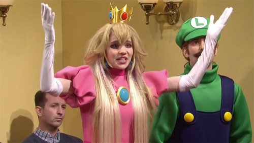 Grimes Appears As 'Princess Peach' Alongside Elon Musk's 'Wario' In 'Mario & Luigi' Sketch On 'SNL' — Watch