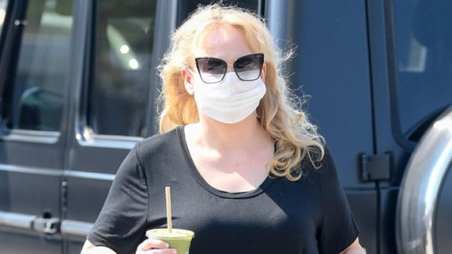 Rebel Wilson Stuns In White Pants As She Tours Rome On Day Off — Photos