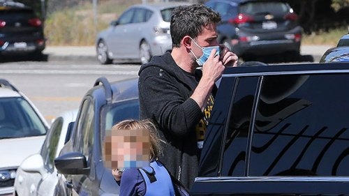 Ben Affleck Is Such A Doting Dad As He Takes Son Samuel, 9, To Swim Practice — See Pic