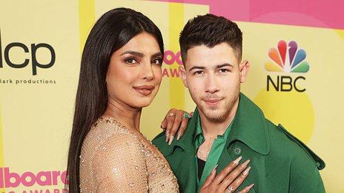 Priyanka Chopra Looks Like A Goddess In Gold Next To Hubby Nick Jonas At The BBMAs – See Pics