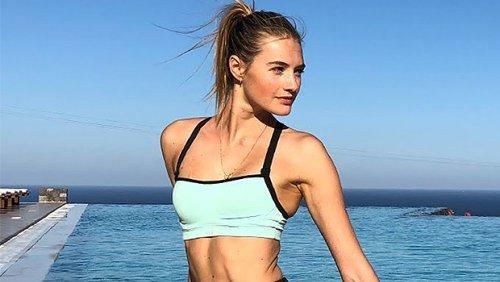Supermodel Sanne Vloet's 20-Minute Core Strengthening Pilates Workout Will Get You Bikini Ready