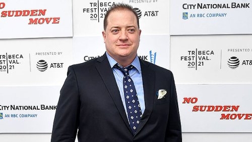 Brendan Fraser, 52, Makes Rare Appearance & Debuts New Look In Red Carpet Pic