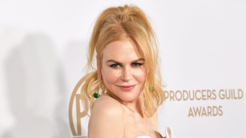 Nicole Kidman Shows Off Her Hair Transformation With A Pixie Cut On The Set Of New Series