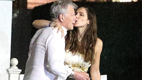 Katharine McPhee Passionately Kisses Husband David Foster On Parents' Night Out — Photos