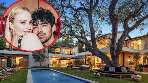 Joe Jonas & Sophie Turner Are Selling Their $16.75 Million LA Mansion: See Photos From Inside