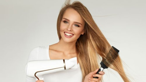 Cut Your Hair Styling Time In Half With This $40 One-Step Dryer & Brush