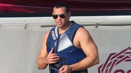 A-Rod Takes A Shirtless Shower On A Yacht & Looks Unbothered By J.Lo & Ben Affleck's PDA Vacation