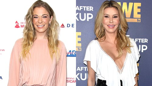 LeAnn Rimes & Brandi Glanville Reunite For Mother's Day: Former Enemies Pose For Family Photo With Eddie Cibrian