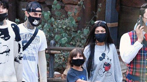 Kourtney Kardashian Reveals She Let Travis Barker Chop Her Hair Off & Fans Are Shook