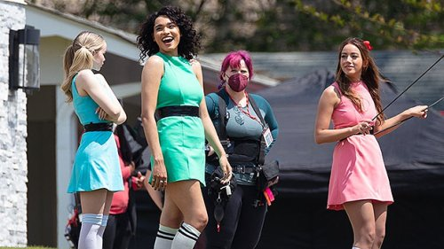 'Powerpuff Girls' Fans Go Nuts After 1st Pics From Set Show Live-Action Cast In Costume