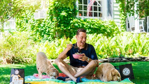 Food Network Star's Jeff Mauro Shares His Healthy & Delicious Summer Protein Bowl Recipe