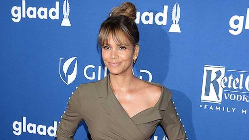 Halle Berry Lounges In Bed In Short Shorts & Tank Top In Sexy New Photo