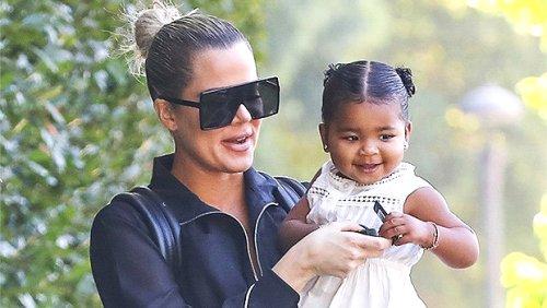 Khloé Kardashian Shares Precious Photo Of True Thompson, 3, Looking Identical To Dad Tristan