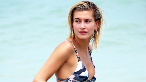Hailey Baldwin Gets Cheeky In Sexy New Bikini Pics From Tropical 'Gals' Weekend' — See Photos