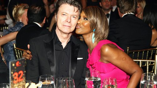 David Bowie's Daughter Lexi, 20, Hugs Mom Iman In Rare & Stunning Throwback Photo