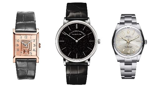 10 Black Tie-Friendly Watches From Rolex, Omega and More