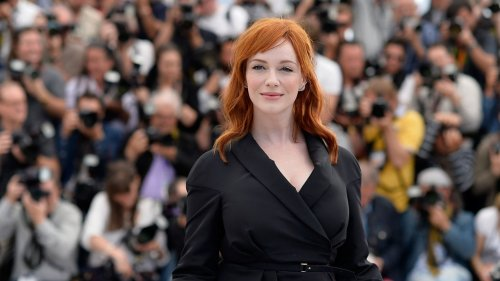 Christina Hendricks Explains How She Ended Up on 'American Beauty' Poster