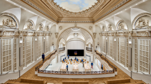 Apple's New Store at L.A.'s Historic Tower Theatre Is Brimming with Hollywood History