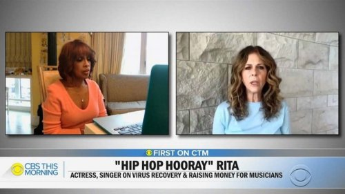 Rita Wilson Opens Up About How She Contracted COVID-19   THR News