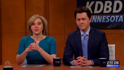 'SNL' Cold Open Tackles Midday News Program Debating Derek Chauvin Trial